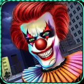 Scary Clown Attack Simulator icon