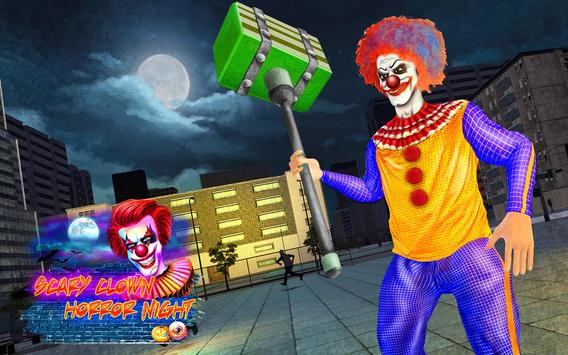 Scary Clown Attack Simulator poster