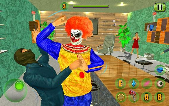 Scary Clown Attack Simulator screenshot 16