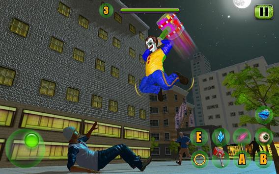 Scary Clown Attack Simulator screenshot 1