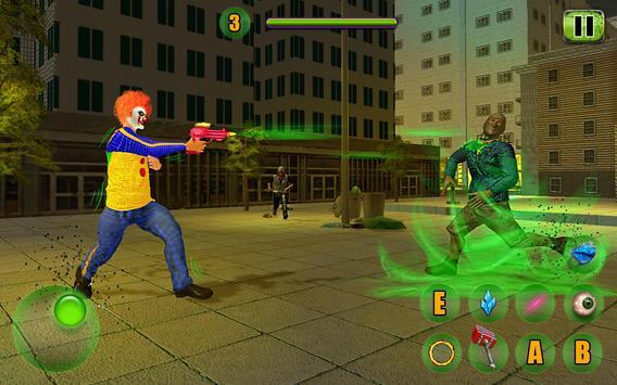 Scary Clown Attack Simulator screenshot 4