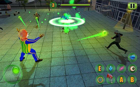 Scary Clown Attack Simulator screenshot 5