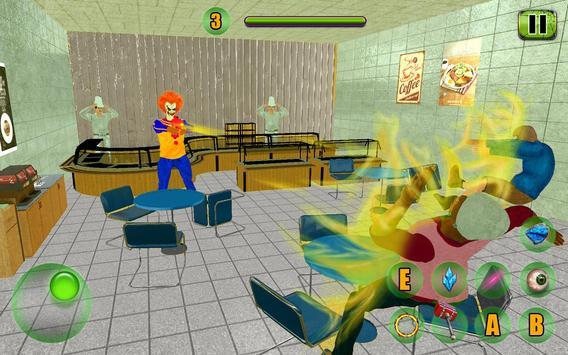 Scary Clown Attack Simulator screenshot 6