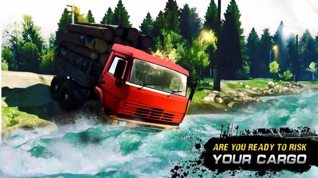 Big Truck Driver Cargo Truck Driving Simulator 3D screenshot 1