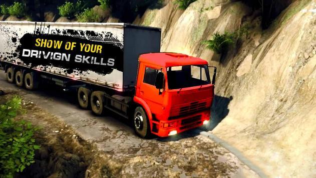 Big Truck Driver Cargo Truck Driving Simulator 3D screenshot 5