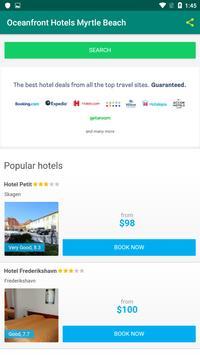 Oceanfront Hotels Myrtle Beach screenshot 4