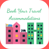 Book Your Travel Accommodations icon