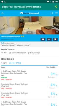 Book Your Travel Accommodations screenshot 2