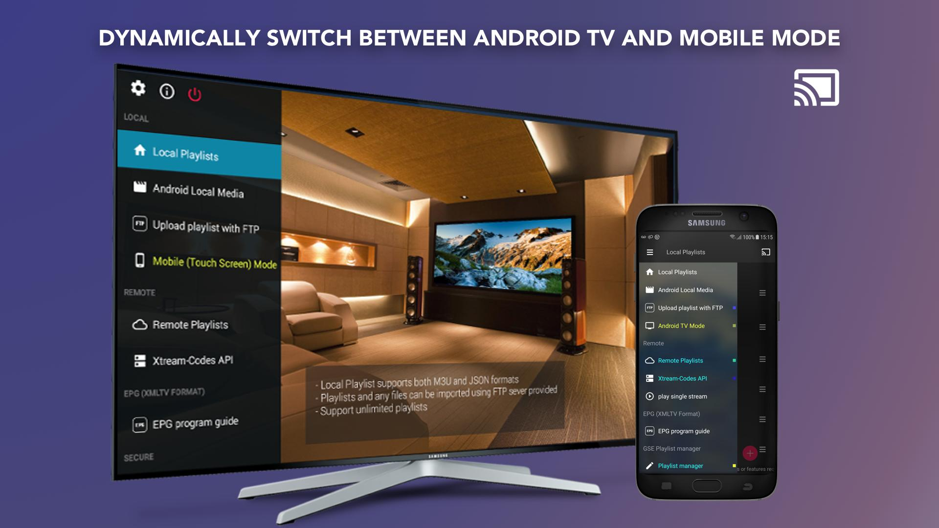 GSE SMART IPTV for Android - APK Download