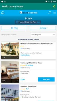 World Luxury Hotels screenshot 1