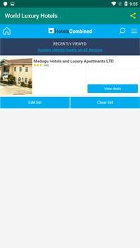 World Luxury Hotels screenshot 3