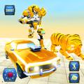 Grand Robot Transformation Tiger : Robot Car