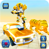 ikon Grand Robot Transformation Tiger : Robot Car