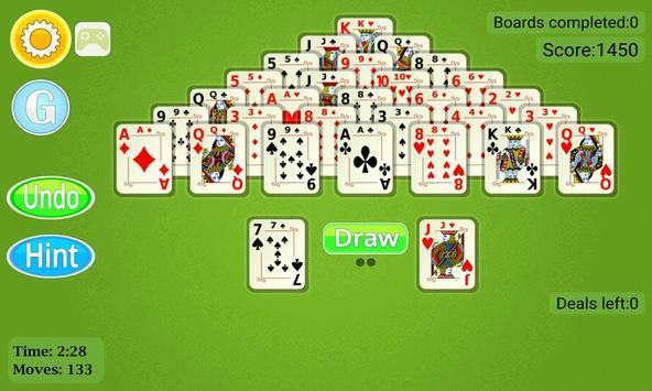 Pyramid Solitaire Mobile screenshot 7