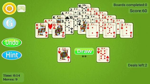 Pyramid Solitaire Mobile screenshot 19