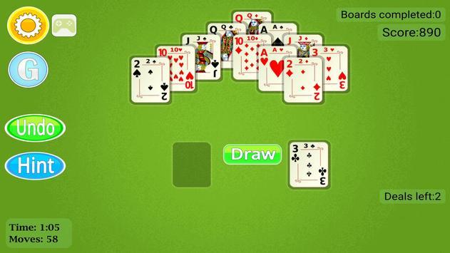 Pyramid Solitaire Mobile screenshot 21