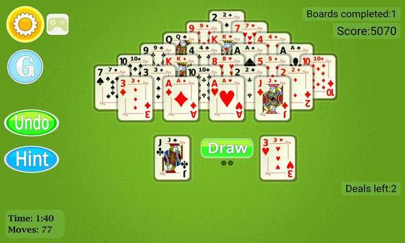 Pyramid Solitaire Mobile screenshot 2