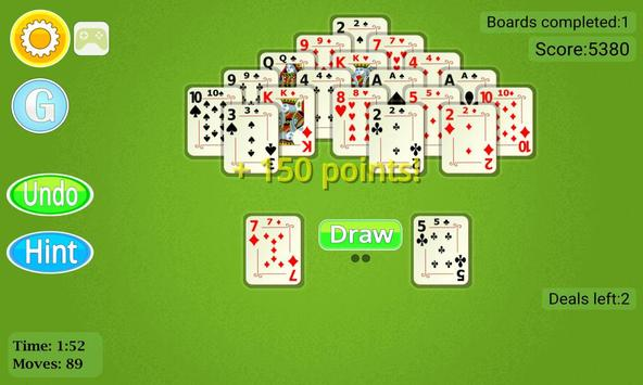 Pyramid Solitaire Mobile screenshot 3