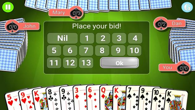 Spades Ultimate screenshot 4