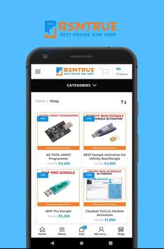 GsmTrue - Best Online GSM Shop screenshot 1