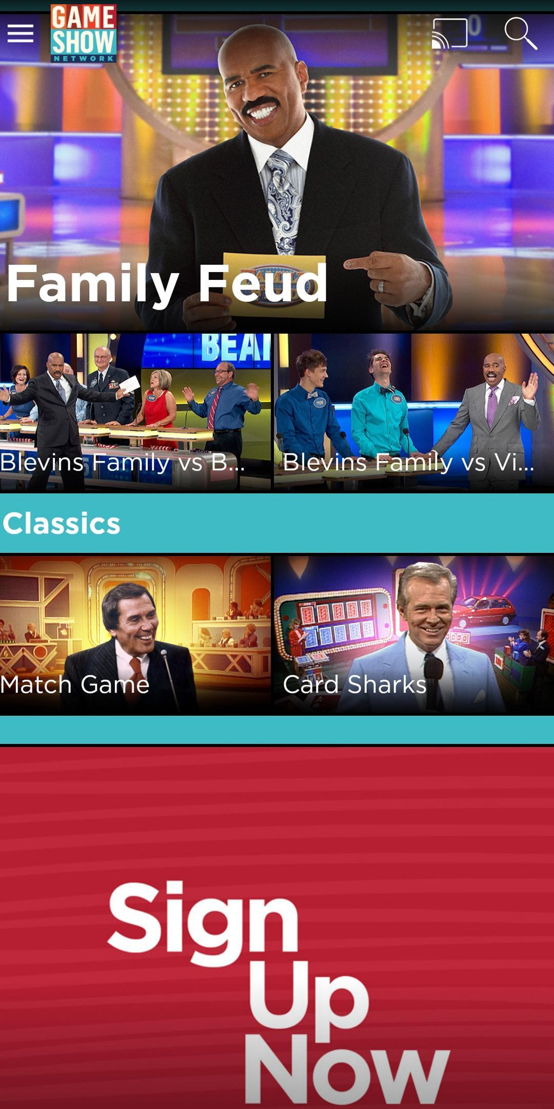 GSN Now – Watch Full Episodes para Android - APK Baixar