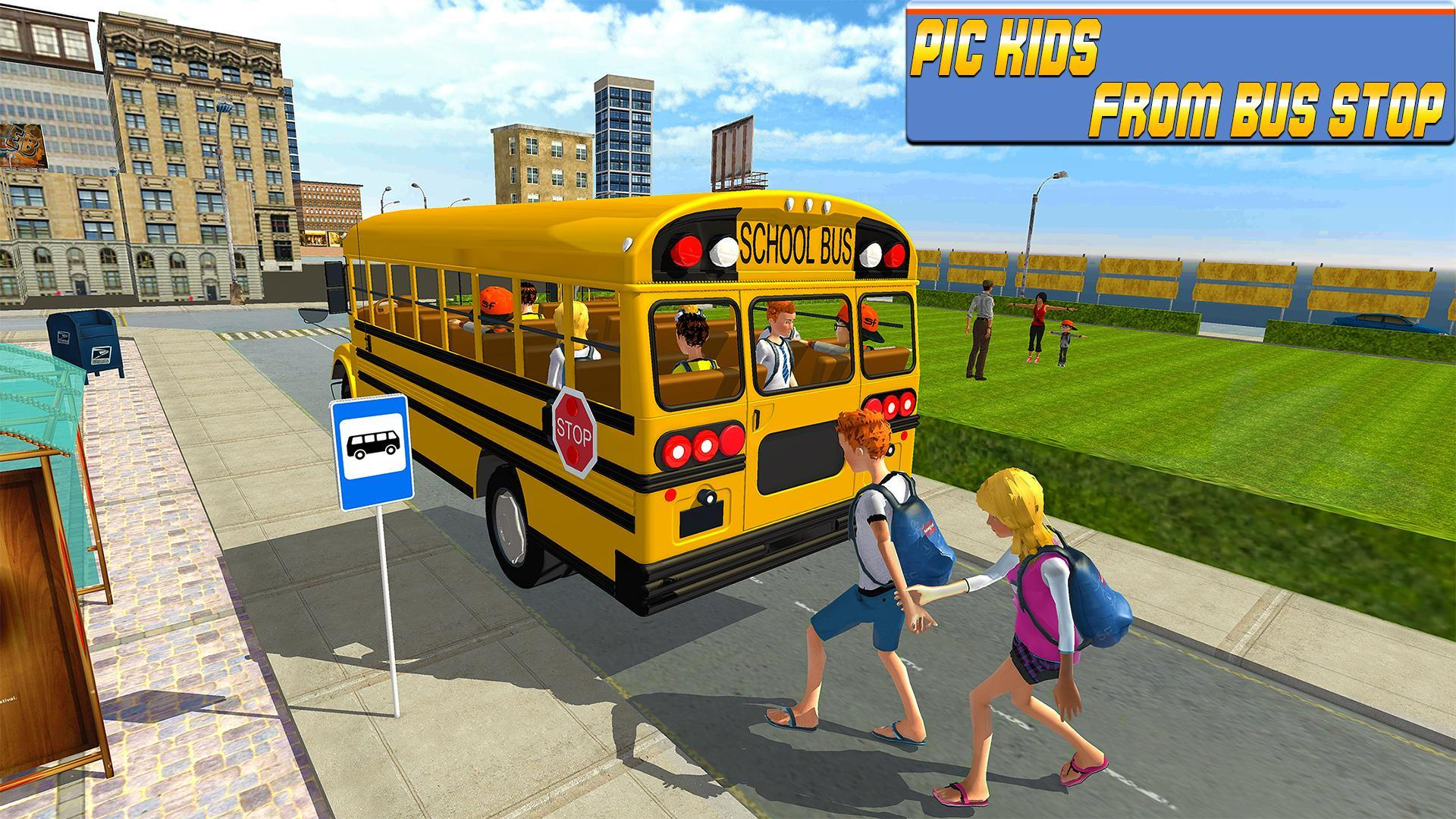 Modern City School Bus Simulator 2017 For Android Apk Download