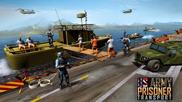 US Army Prisoner Transport Plane: New Army Games screenshot 4