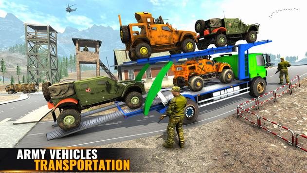 US Army Prisoner Transport Plane: New Army Games screenshot 19