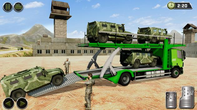OffRoad US Army Helicopter Prisoner Transport Game تصوير الشاشة 8