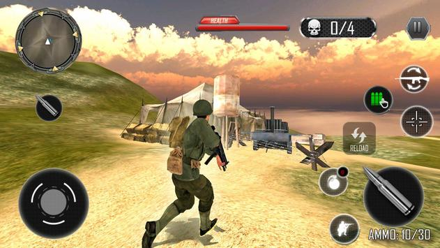 Last Commando Survival: Free Shooting Games screenshot 1