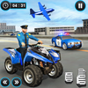 US Police ATV Quad Bike Plane Transport Game 图标