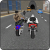 Cidad Estrada Moto Stunt Rider ícone