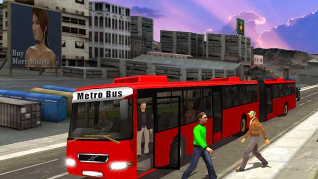 Modern Metro Coach Bus Driving simulator 2019 screenshot 1