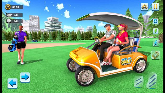 Real 3D Golf Simulator : Golf Games poster