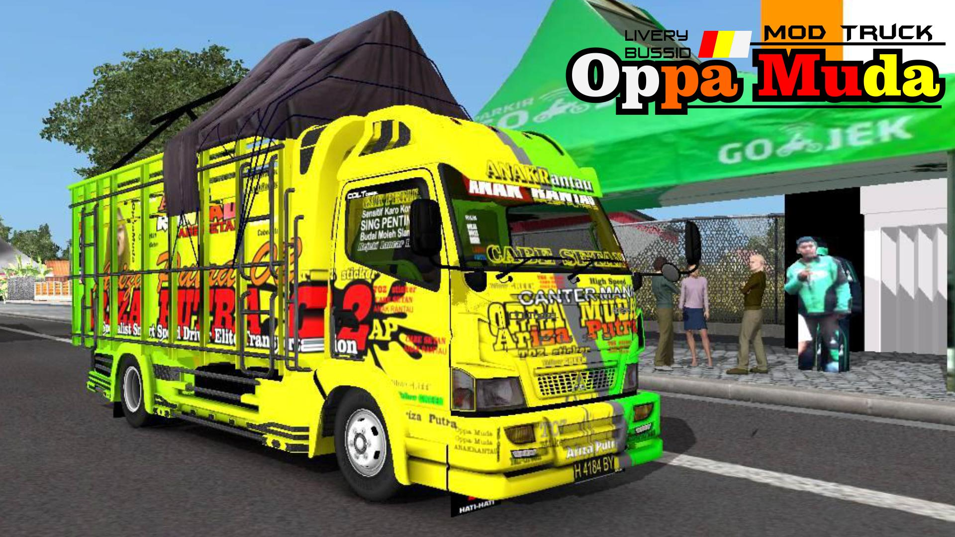 Livery Bussid Mod Truck Oppa Muda Lengkap For Android Apk Download