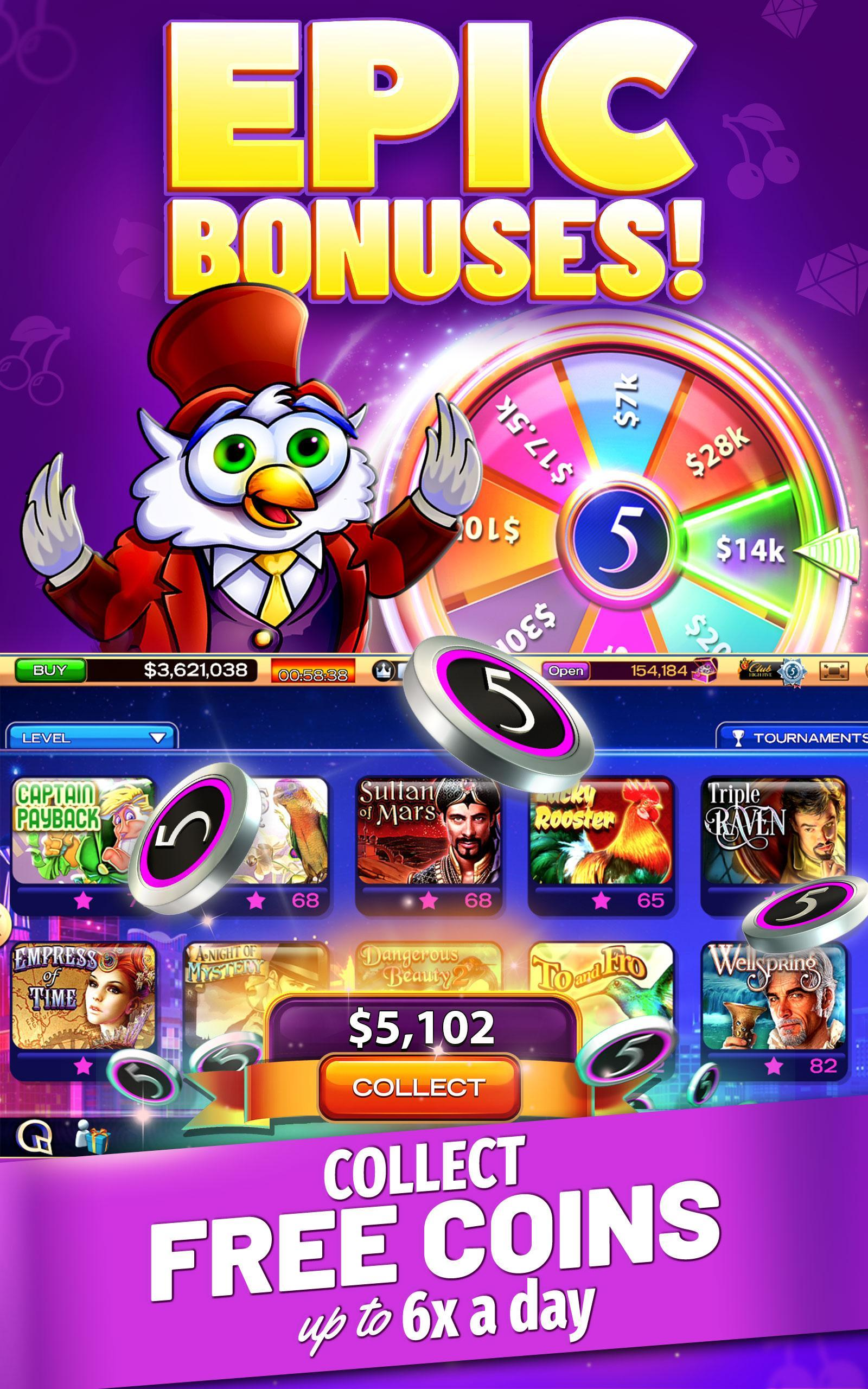 High 5 Casino Slot Games