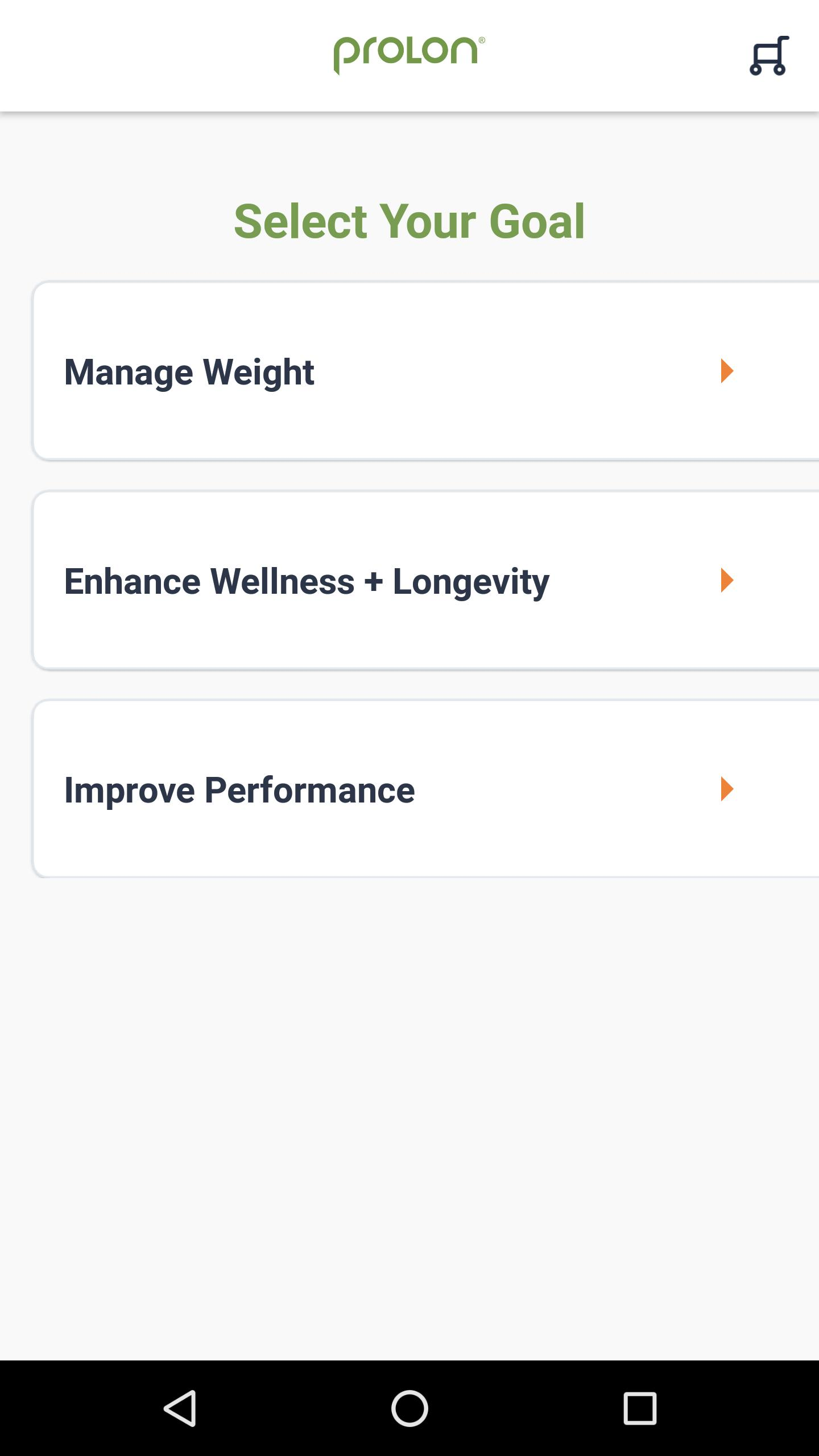ProLon: Fasting Mimicking Diet for Android - APK Download