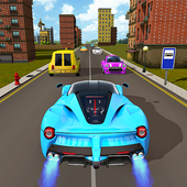 anak-anak balap mobil turbo mobil : baru permainan on pc