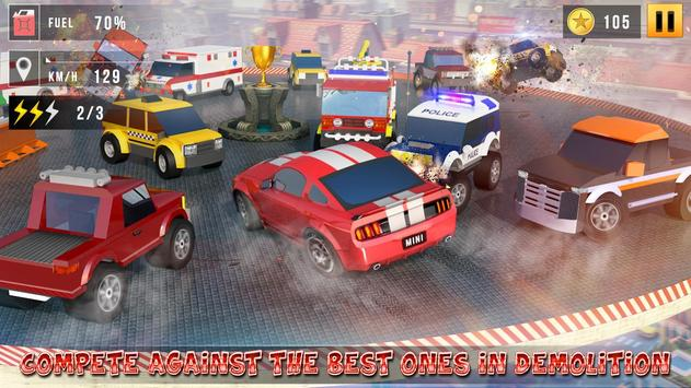 Mini Car Race Legends - 3d Racing Car Games 2020 स्क्रीनशॉट 9
