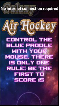 Galaxy Air Hockey screenshot 2