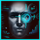 Iron robot hero – Camera Simulator icon