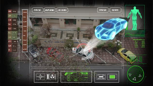 Iron robot hero – Camera Simulator screenshot 2