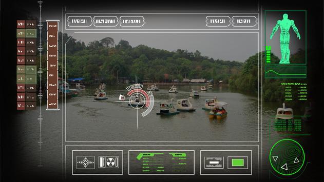 Iron robot hero – Camera Simulator screenshot 3