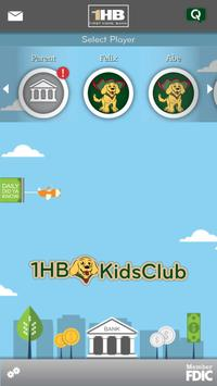 First Home Bank Kids Club poster