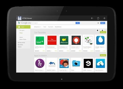 HTML Viewer imagem de tela 10
