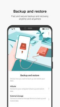 Huawei Backup постер
