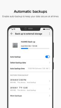 Huawei Backup screenshot 2
