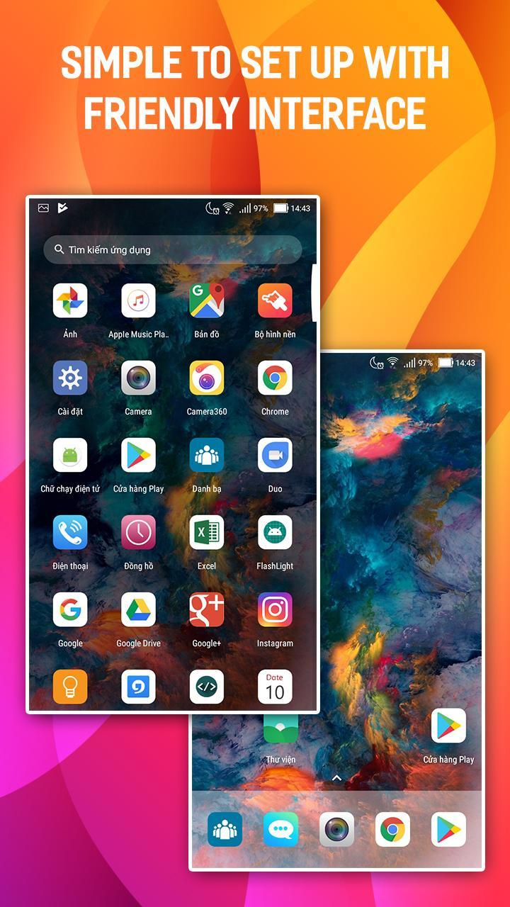 Huawei P20 Pro Launcher - Huawei Themes App for Android