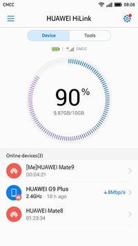 Huawei HiLink (Mobile WiFi) الملصق