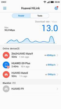 Huawei HiLink (Mobile WiFi) تصوير الشاشة 2